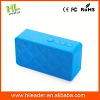 Customized new arrival cheap 2014 new model for outdoor sport play portable mini bluetooth speaker box