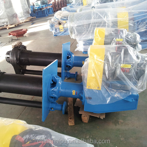 Made in China NZJA high efficiency rubber impeller centrifugal submerged /axial flow pumps