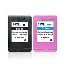 Here you could get a high quality products remanufactured ink cartridge for hp 61 XL CH561w CH562w