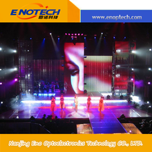 china supplier advertising equipment Waterproof P16 Curve Outdoor Led Display Full Color 62500Dots For Stage