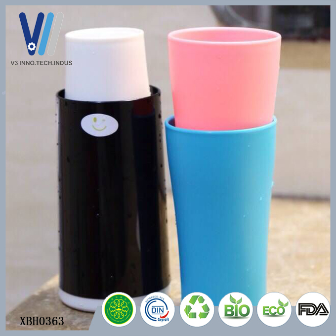 Wholesale Plastic Gargle Cup Bathroom Tumbler Cup for distributor