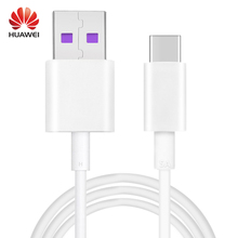 HUAWEI Mate 9 Pro Cable 100% Original P10 Plus Supercharge 4.5V/5A USB 3.1 Type C Phone Fast Charging 1M Type-C Data Cabel