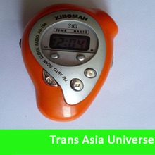 Top Quality Custom Cheap rechargeable fm pocket radio mp3 player