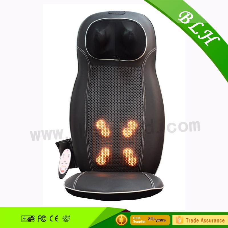 Shiatsu kneading Seat Cushion Vibrating neck shoulder back massager Thighs with Heat Therapy Massage Relax Relieve fatigue