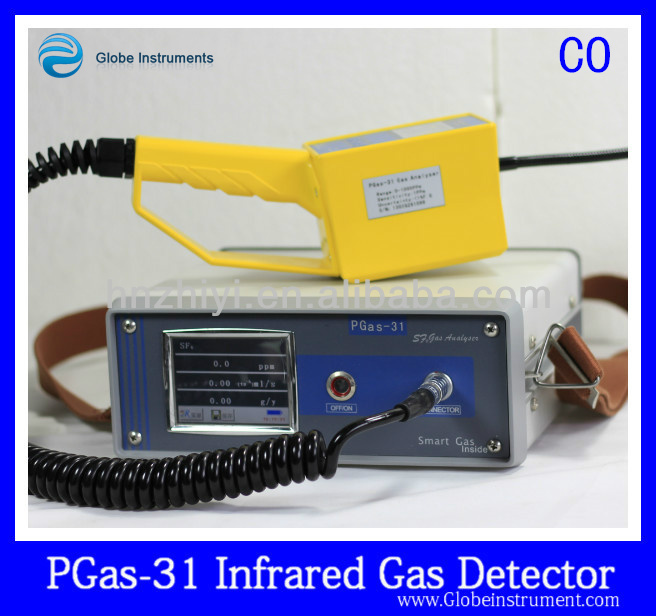 PGas-31-CO2 High precision radon gas detector gas detector with shut-off valve to detect NH3,CO2,O2