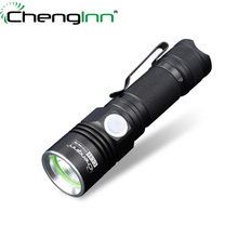 Directly Rechargeable led mini Flashlights Pocket Convoy Strobe torch xpe Waterproof Aluminium Alloy Led Torch &14500 chenglnn