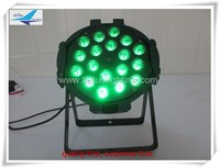 (20pcs)free shipping 18x10w led dj stage equipment par 64 rgbw led par light show