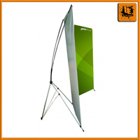 Free design high quality horizontal x banner stand custom poster x stand banner for home gardener