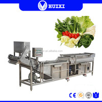 CE Approved Air Bubble Leafy Lettuce Vegetable Washing Machine