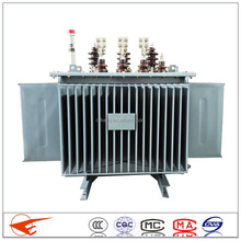 Electric transformer Three phase 10kv oil immersed transformer Corrugated tanks 63kva