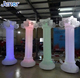 Lighting Inflatable Roman Column for Wedding Decoration