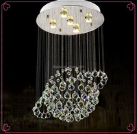 Hot Sale!!! Party/Home/Wedding Earth Shape Crystal Chandelier Light for Decoration