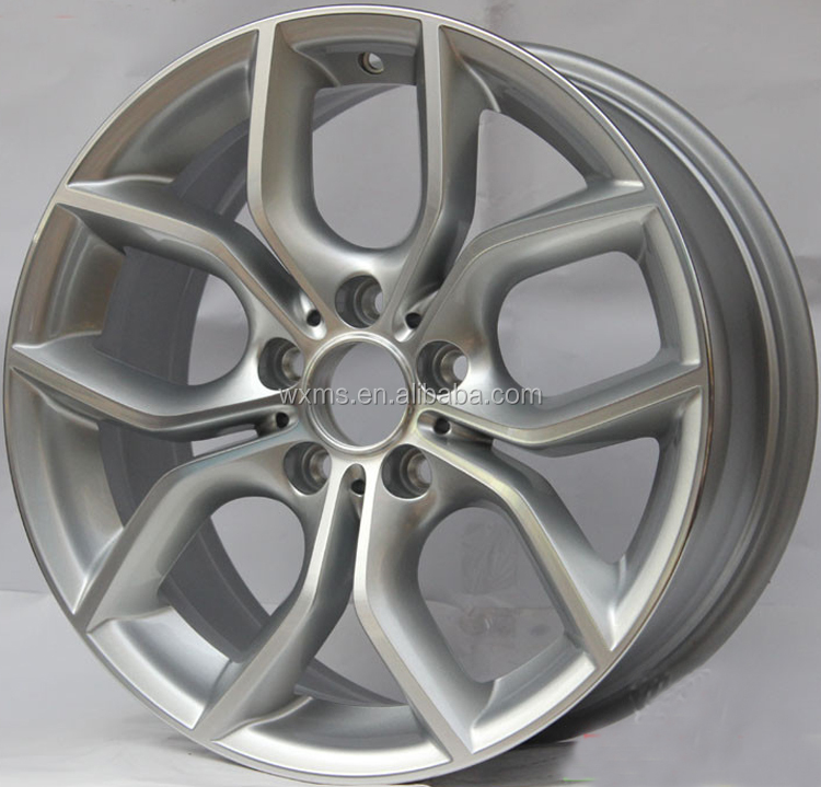20x10 20x11 gun metal machine face replica wheels for X3