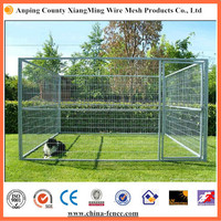 Free standing portable temporary fencing for dogs