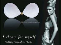 Polyolefin gel bra for high quality sexy lingerie shop& super market