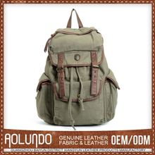 Cheap Price Custom-Made Canvas Hiking Military Sling Bag Backpack Rucksack