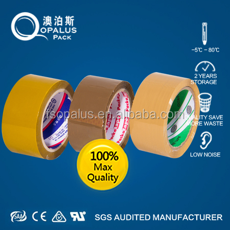 Bopp Water Based Acrylic Adhesive Packing Clear Sealing Tape