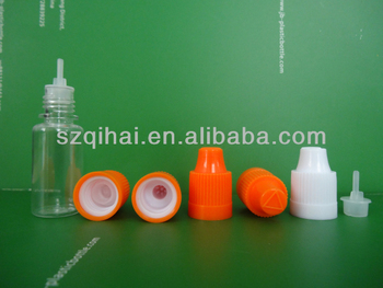 10ml/15/20ml/30ml/50ml PET plastic bottle with safety cap and clear dropper of JB-237