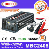 Automatic constant current car battery charger 24V 5A,7 stage automatic charging with CE,CB,RoHS certificate