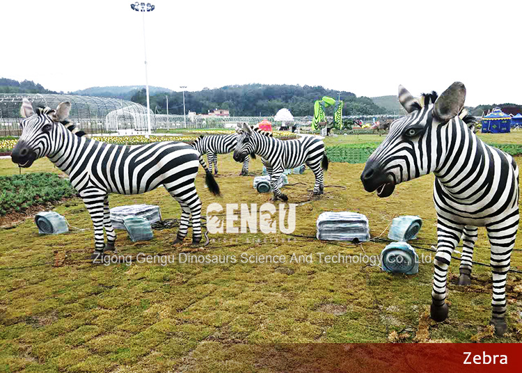 Zoo decoration mechanical animal model for sale