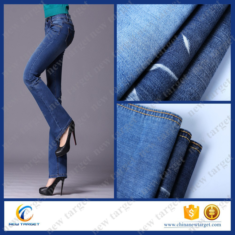 new fashion shiny women denim fabric swatches