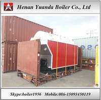 Indoor/outdoor Wood Fired Steam Boiler