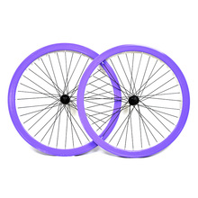 QUANDO Alloy 9T one-piece drive wheel set bicycle wheels 700c bike rim