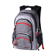 Eco Friendly 600D Polyester Backpack Secret Pocket