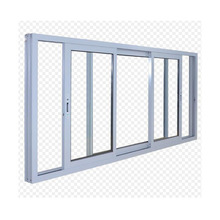 Customized thermal break aluminum double glass sliding window
