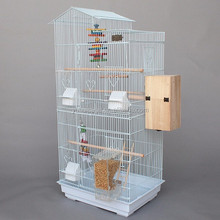 alibaba china low price black and white large bird aviary petsmart cage A10