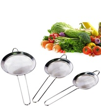 Fine Mesh Stainless Steel Strainers -Food Strainer & Sieve for Kitchen, Tea, Rice & Juice Use
