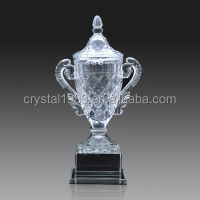 2016 Oscar statuette hold star with black crystal base trophy replica trophy