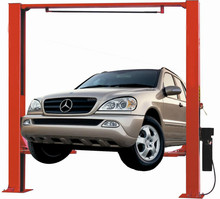 4500kg clear floor two post car lift /auto car lift with CE certification
