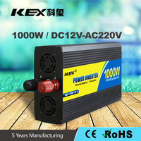 Best choice home use inverter with over thermal protection 12V dc ac 1000W home solar systems inverter with CE/ RoHs KEX-31000