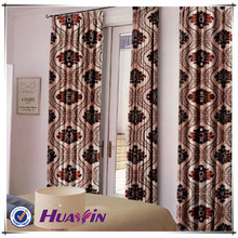 hot selling jacquard curtain fabric blackout fabric