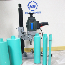 portable 2050w core drilling machine price,used core bore