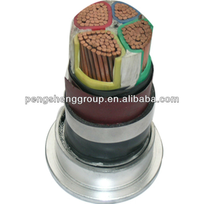 High quality !!! xlpe insulated lead sheath power cable