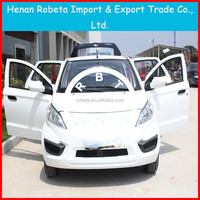 high speed 4 passenger 4 door electric power special car with AC