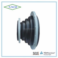 Reduced rubber expansion joint