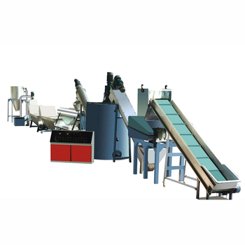 PET flakes making line