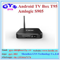 T95 Android 5.1 1g RAM 8g ROM kodi 16.0 AML8726-s905 T95 android tv box