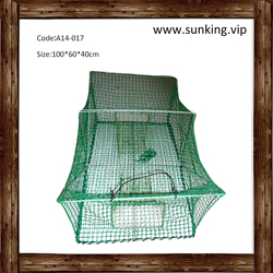 A14-017 Strong Quality Blue Commercial Fishing Crab Trap Net