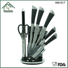 high quality stainless steel 5pcs kitchen portable knives set