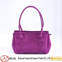 Wholesale China new products women fashion felt handbag