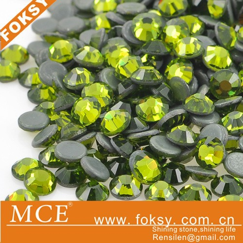 Olivine korean hotfix rhinestones transfer iron on diamond - FOKSY
