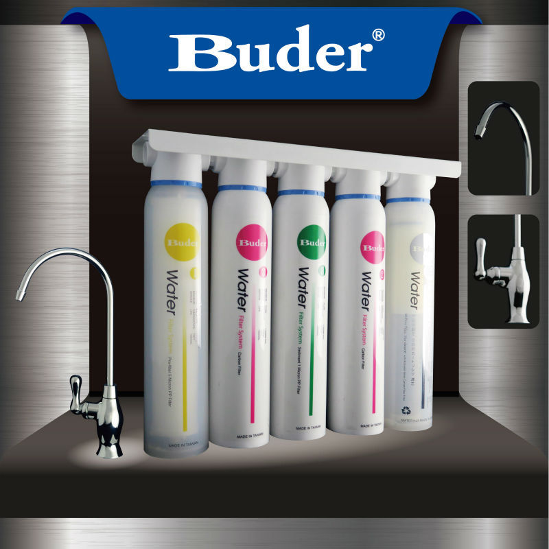 [ Taiwan Buder ] Residential 5 stage whole house filter water purifier
