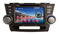 Touch Screen Car Dvd Player with Radio Multimedia Navigation System for Toyota Highlander 2010-2012