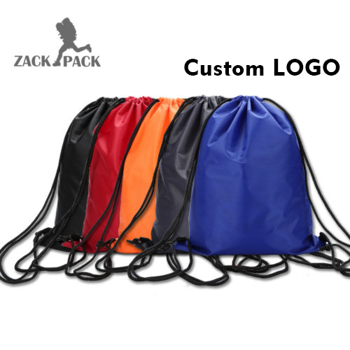 nylon drawstring bags wholesale draw string backpack