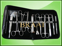 Most selling minor surgery set 13 pieces surgical instruments kit