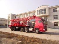SPC-450 truck mounted water drilling rig